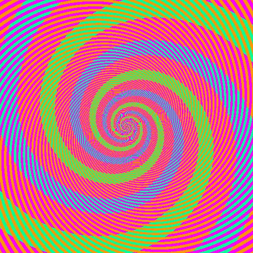 色の錯視:黄緑と水色は実は同じ色