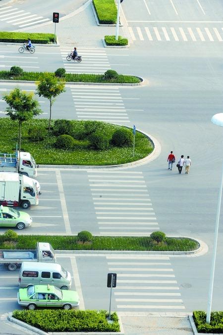 The absurd pedestrian crossings