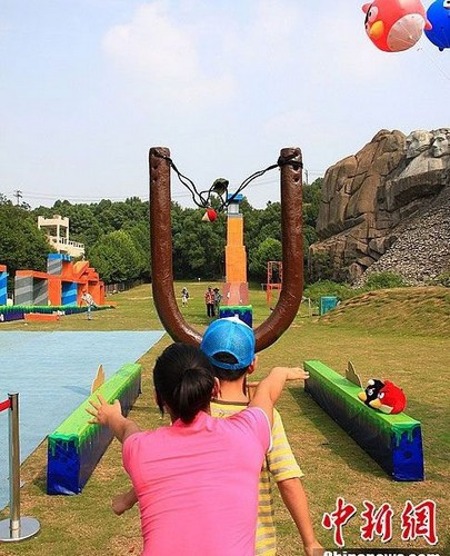 angry birds Chinese Thema Park 1
