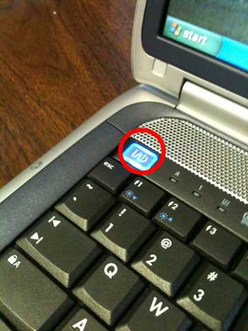 awesome laptop power button