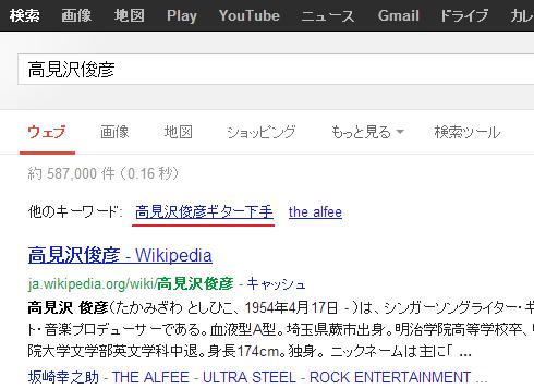 高見沢俊彦 - Google 検索