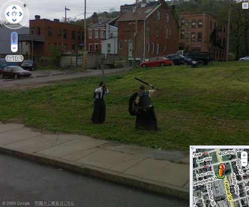 GoogleMap 決闘中の写真