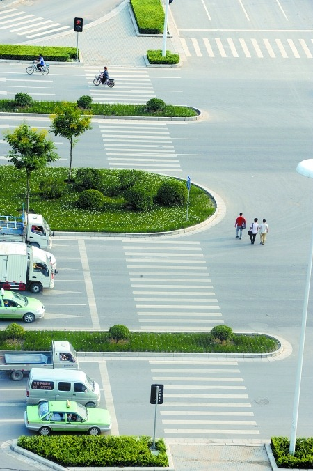 The absurd pedestrian crossings