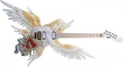 天使型ギター 1