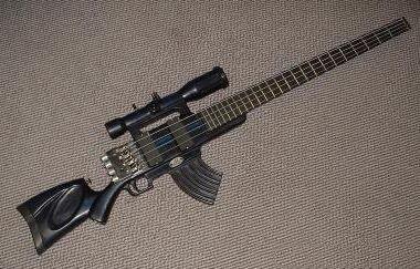 ライフル型ギター