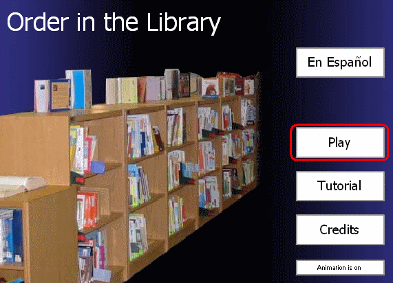Order in the Library : start