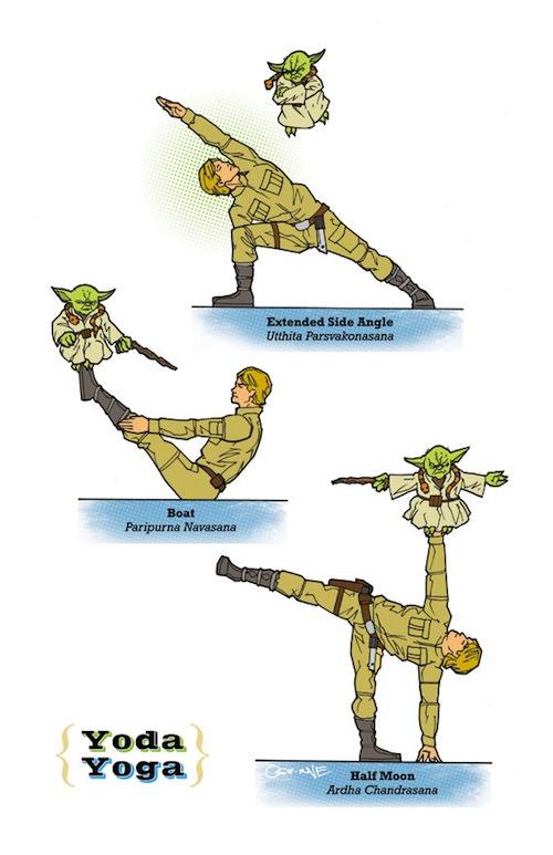 Yoda Yoga